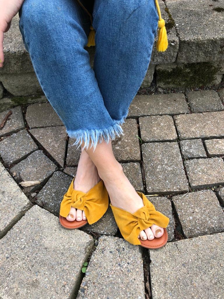 188e0c2a4 Shoes – Oversized Bow Sandal $34